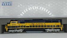 Kato N Scale Locomotive Alaska Railroad EMD SD70MAC#4006 Spirit Of Anchorage