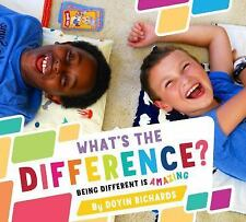 What's the Difference?: Being Different Is Amazing (Hardback or Cased Book)