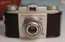 KODAK Pony 135 Camera Model C in Excellent Condition with Field Case 341-101046