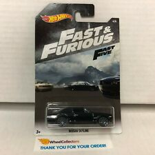 Nissan Skyline * BLACK * Hot Wheels Fast & Furious * WC14