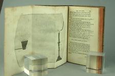 MARAT Recherches physiques sur le Feu 1780 Jombert EO Planches Livre ancien