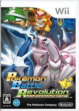 Nintendo Wii Pokemon Battle Revolution Japan F/S