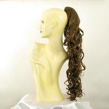 Hairpiece ponytail wavy light golden brown 65 cm ref 10 12 peruk
