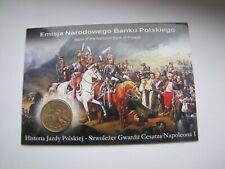 2 zł GN Szwoleżer Gwardii Napoleona 2010 blister ozdobny UNC