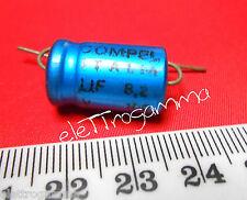 8,2 uF 100V Condensatore Elettrolitico non polarizzato NP