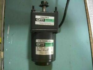 Oriental Motor 3IK15RGN-AUL Speed Control Motor with 3GN25KA Gear Head