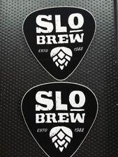 STICKER Beer ~ SLO Brew = San Luis Obispo, CALIFORNIA Brewery ~ Established 1988