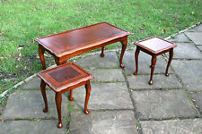 Mahogany Vintage/Retro Nested Tables