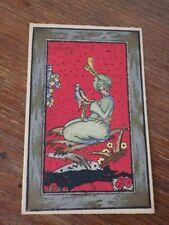 CPA Postcard Cartolina ILLUSTRATEUR Elsie Denise Millon AU POCHOIR vers 1920