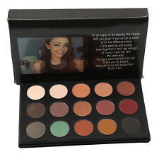Pro 15 Colors Eye Shadow Makeup Shimmer Matte Pigments Eyeshadow Palette Set BI