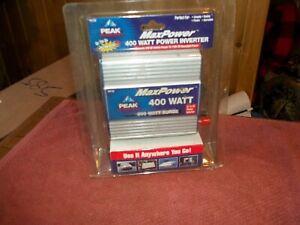 PEAK MAX POWER 400 WATT POWER INVERTER MODEL PKC1AU - MOBILE UNIT