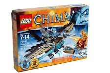 Lego CHIMA #70141 Vardy's Ice Vulture Glider Building Toy Set