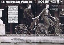 COUPURE DE PRESSE CLIPPING 1982 ROBERT HOSSEIN    (6 pages)