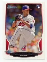 2013 Bowman DANNY SALAZAR Rookie Card RC LOGO #11 Cleveland Indians PROSPECT