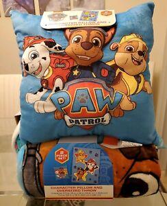 Paw Patrol Kid's Pillow & Throw Blanket Sleep set