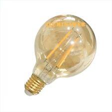 Bombilla Decorativa E27 Globo 95 LED 4W 2200k Luz Calida Filamento 400Lm vintage