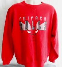 Chicago Bulls Champion NBA Vintage Red Sweatshirt Size XL