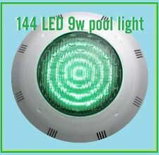 New ABS 144 9w  LED RGB 7Colors 12V Underwater Swimming Pool + Remote Control<
