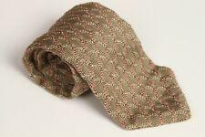 Hickey Freeman Collection 100% Silk Beige Pink Knit Neck Tie