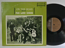 FREE LANCE SINGERS - ON THE ROAD WITH THE FREE LANCE SINGERS LP - PRIVATE - FOLK