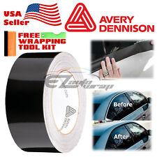 Avery Supreme Gloss Black Vinyl Vehicle Car Wrap Film Sheet Roll Sw900-190-o 5ft X 3ft