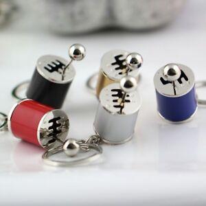 Manual Gear Shift Knob Keychain Gearshift Toy Anti Stress Relief Tool Key Ring