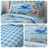 Bedlam - Patch Seaside - Childrens Matching Duvet Cover Set / Bedding