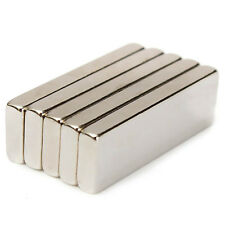 15pcs Neo Strong 30mm x 10mm x 3mm Cuboid Neodymium Block Magnets Grade N35