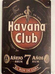 Blechschild Havana Club!! Neu, selten