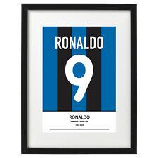 Ronaldo Inter Milan shirt art print / poster