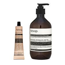 Aesop Hand Nail Care Resurrection Aromatique 500ml Hand Wash + 75ml Balm #b351