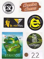 Lot of Marijuana Industry Stickers-Colorado MMJ Dispensary Weed Edibles 420-#22