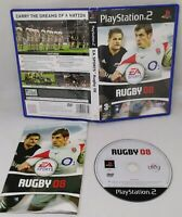 Playstation 2 Rugby 08 PS2 Rare 2008 With Manual EA Sports England