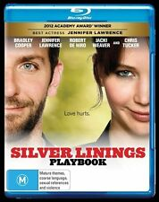 "Silver Linings Playbook (Blu-ray, 2013) ""EX RENTAL"""