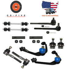 HEAVY DUTY Ball joint Control Arm Tie Rod End Kit fits 2000 Ford F150 F-150 2WD