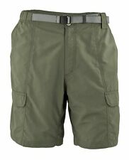 WHITE SIERRA MEN'S X5709M 10 INCH INSEAM SAFARI QUICK DRY TRAVEL SHORT LARGE