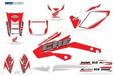 Decal Graphic Kit Honda CRF 450R Dirt Bike Sticker Backgrounds CRF450 02-04 CR