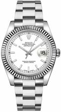 Discounted Authentic Rolex Datejust 36 White Dial Oystersteel Watch 116234-WHTSO
