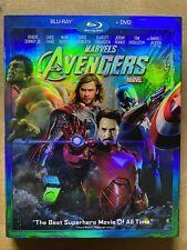 The Avengers (Blu-ray/DVD, 2012, 2-Disc Set) SLIP SLEEVE
