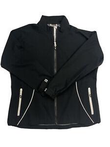 FootJoy Dryjoy Hydrolite Black Rain Jacket Women's  size XXL