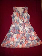 NEU! Betty Barclay-rot-blau-bedrucktes Kleid Baumwolle Gr.44