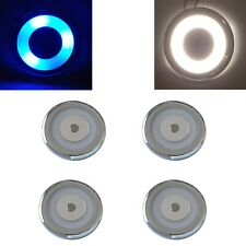 4 x LED Spot Light 12V 24V Touch Switch Dimmer 70mm Downlights Caravan Boat