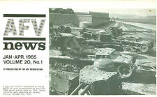 AFV NEWS V20 N1 SWEDISH BV206_ITALIAN OF-40 LION MBT_FORD ARMOURED CARS_WW2 US M