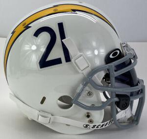 Schutt Football Helmet LaDainian Tomlinson San Diego Chargers #21 Game Style L