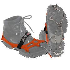 ALPIDEX Schuh Spikes Grödel Schneeketten Schuhe Eiskrallen 21 Zähne Schuhketten