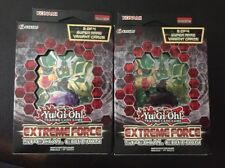 Yugioh EXTREME FORCE SPECIAL EDITION 2 Box Lot MINI BOOSTER BOX ENGLISH SE NEW