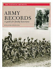 Army Records: A Guide for Family Historians-ExLibrary