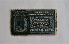 Messenger Running 1894 E4 Special Delivery stamp U