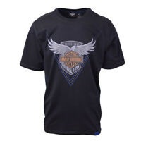 Harley-Davidson Men's Black S/S Graphic Tee