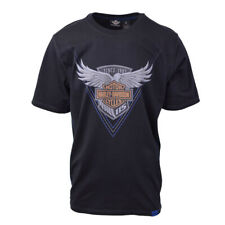 b7b7c425 Harley-Davidson Men's Black S/S Graphic Tee